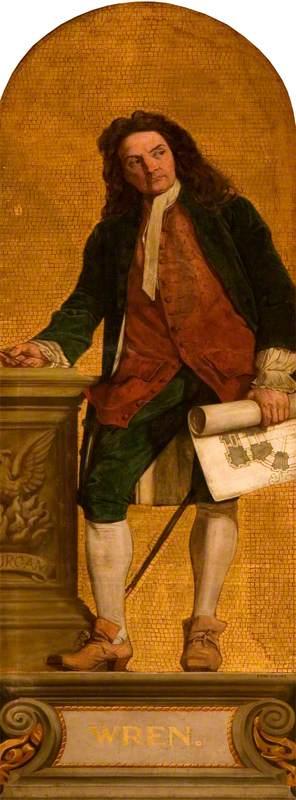 Sir Christopher Wren (1623–1723)