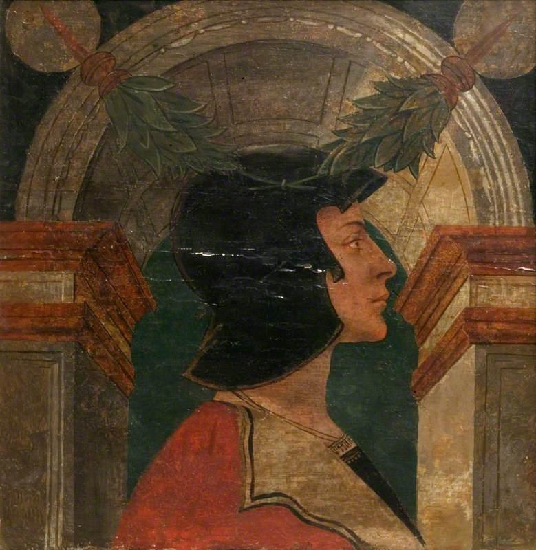Male Profile Bust