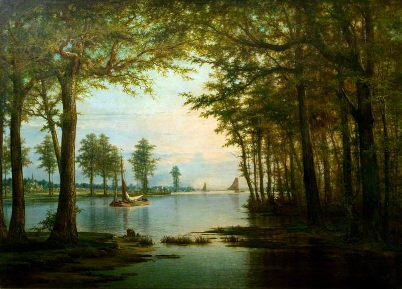 View on the Scheldt
