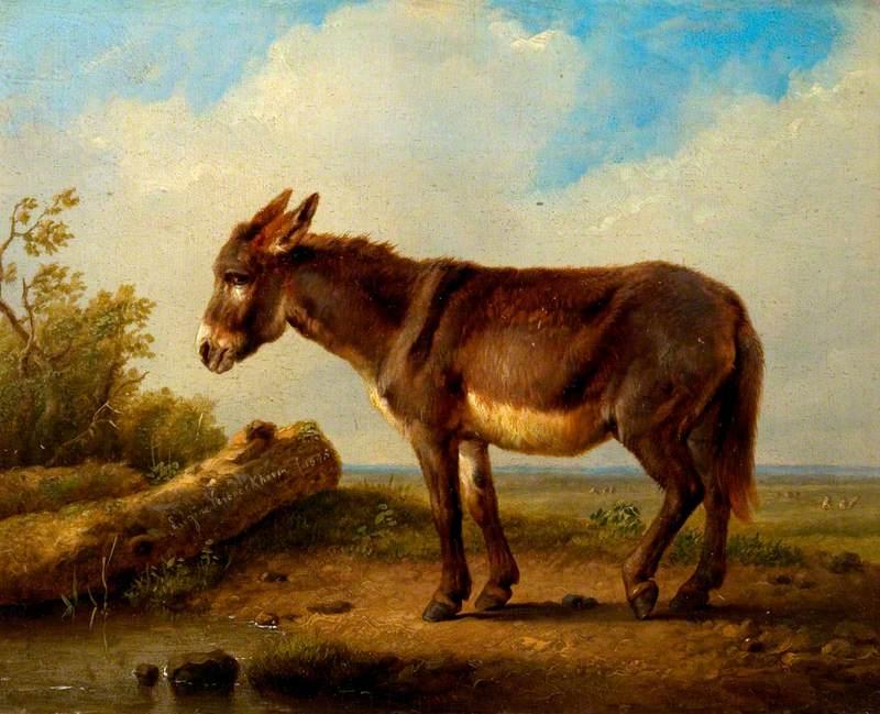 Landscape with a Donkey