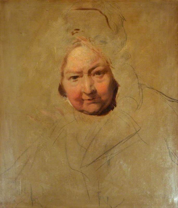 Head of an Old Lady