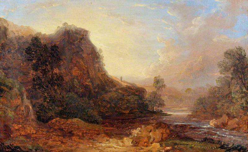 View of Llandysilio Vale, near Llangollen