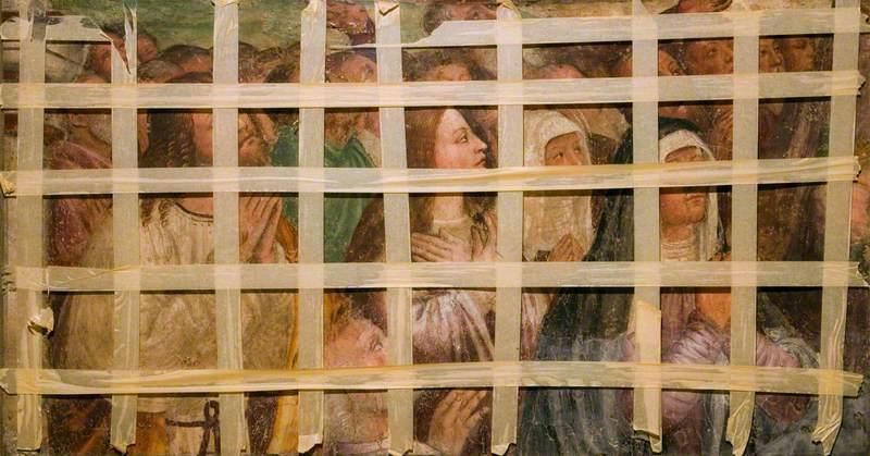 The Virgin, Apostles and Saints