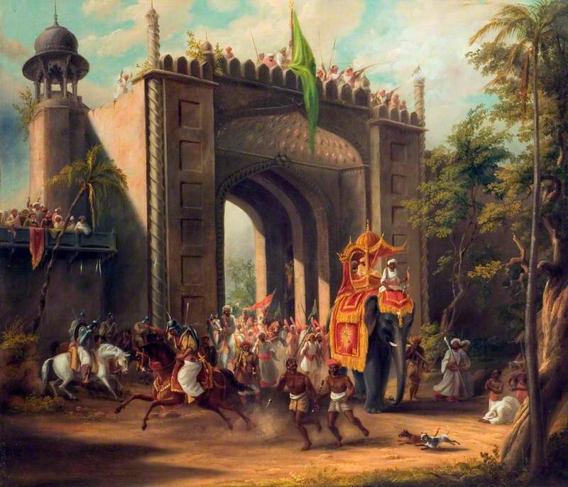 A State Procession in India