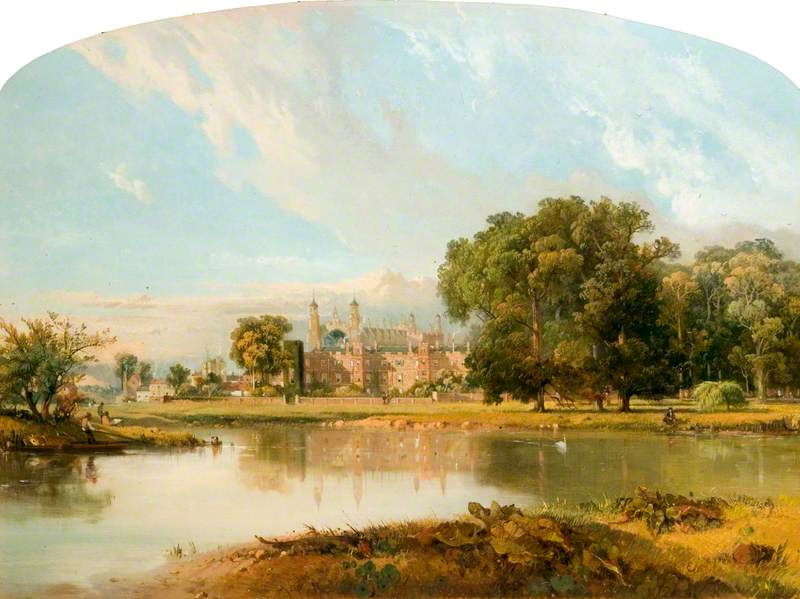 Eton College, from the Thames