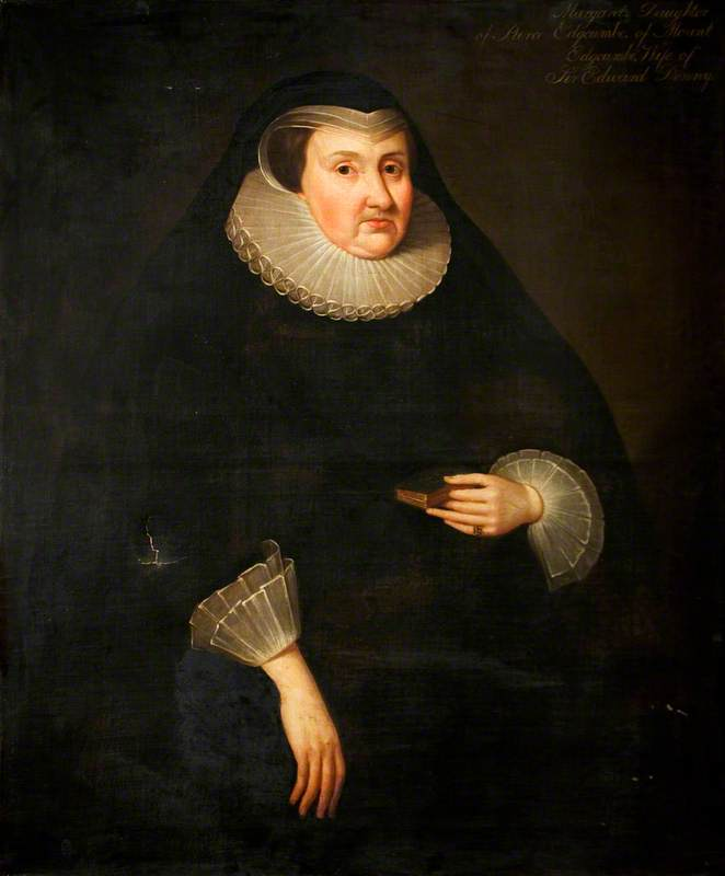 Margaret Edgcumbe (1560–1648), Wife of Sir Edward Denny, Knight Banneret