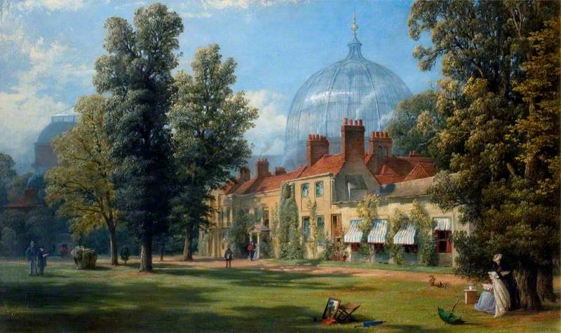 Buildings in the Grounds of the South Kensington Museum in 1862