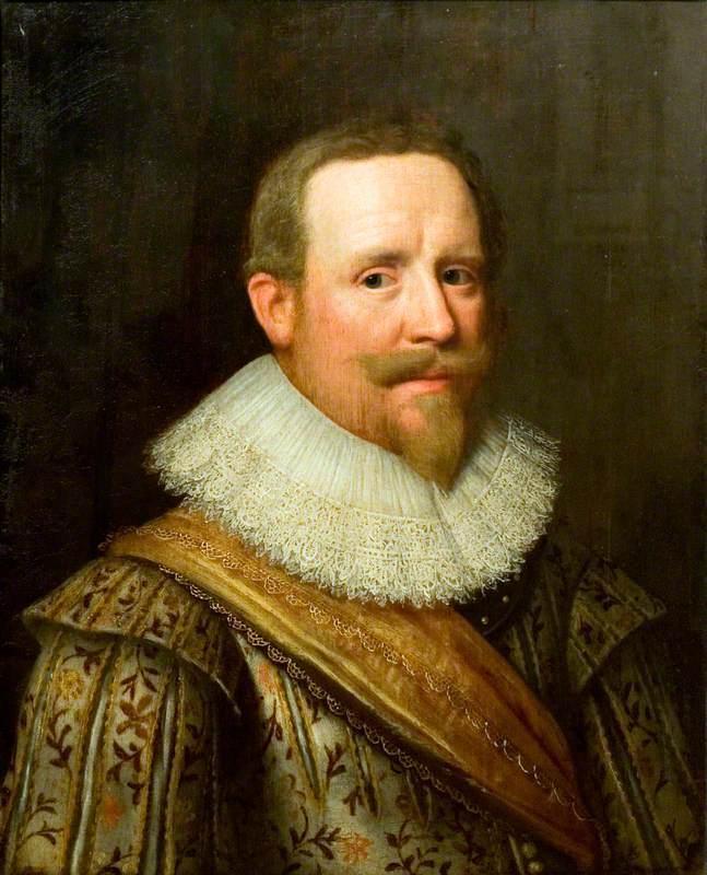 Portrait of a Man Wearing a Ruff