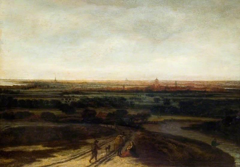 A Dutch Landscape: View of a Flat District