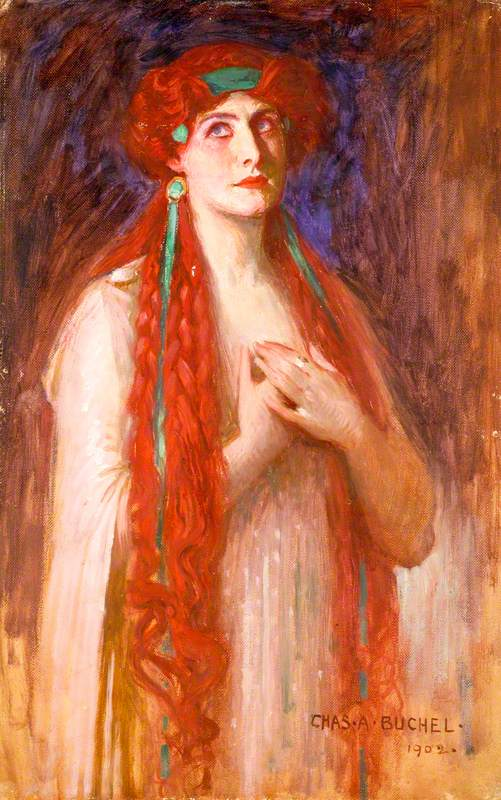 Nancy Price (1880–1970), as Calypso in 'Ulysses' by Stephen Phillips