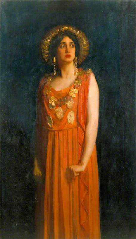 Lillah McCarthy (1875–1960), as Jocasta in 'Oedipus Rex' by Sophocles