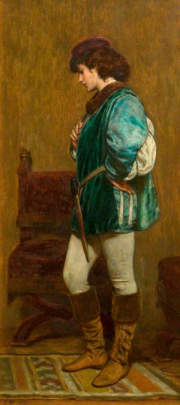 Rosalind Preparing to Leave Duke Frederick's Palace, 'As You Like It' by William Shakespeare