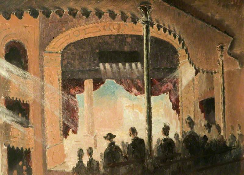 Interior of the Old Vic