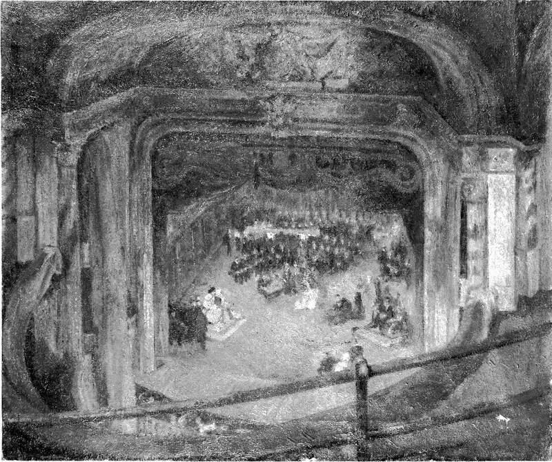 Sir Herbert Beerbohm Tree (1852–1917), Rehearsing 'Henry VIII' by William Shakespeare at His Majesty's Theatre