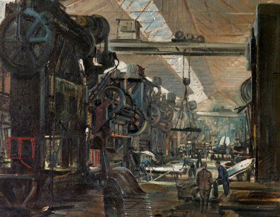 Press Shop, Austin, Longbridge, Warwickshire