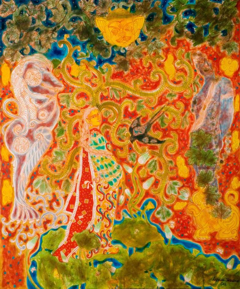 Vasundhara (The Earth), the Garden of Origins