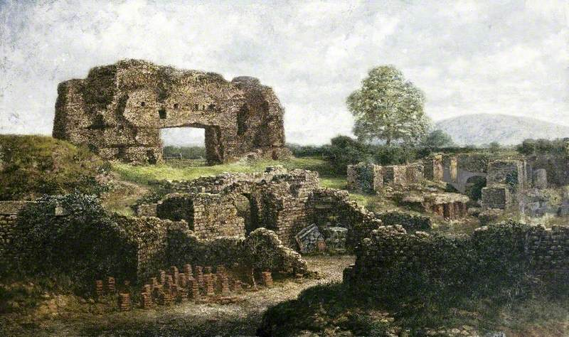 Archaeological Site, Wroxeter, Shropshire