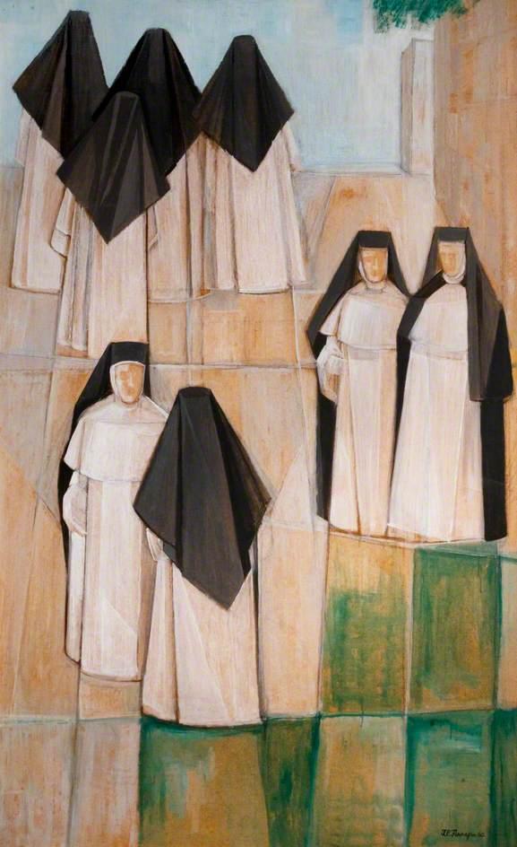 Nuns on the Terrace, St Mary's