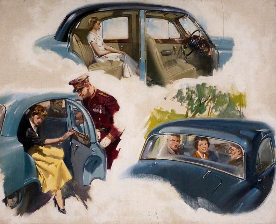 Illustration for Armstrong Siddeley 'Sapphire' Cars