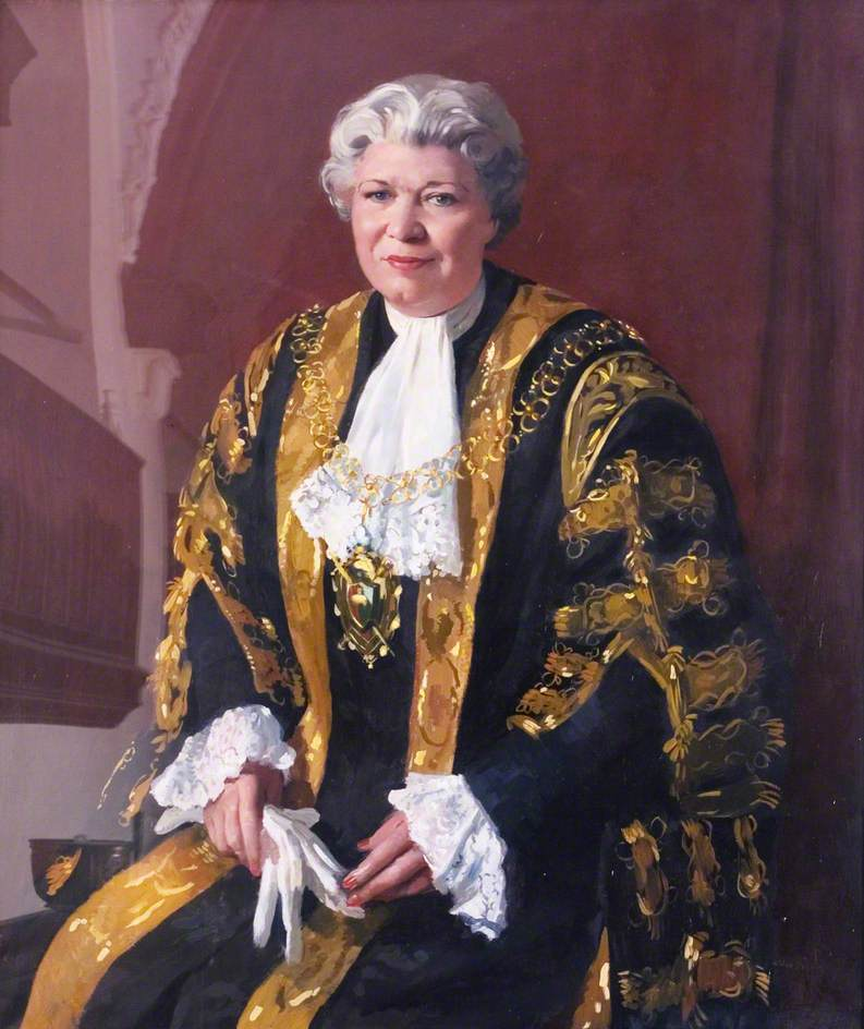 Alderman Mrs Pearl Hyde (1904–1963), MBE, JP, Lord Mayor (1957–1958)