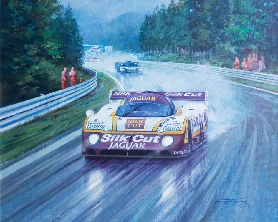 Spa 1987, Silk Cut Jaguar
