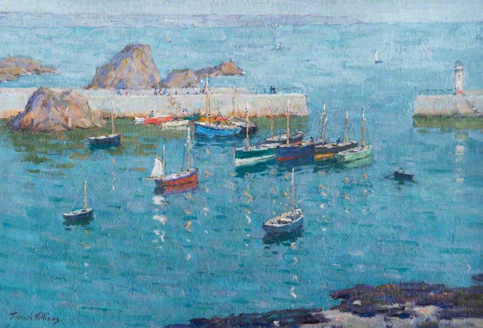 Boats in Harbour, Mevagissey