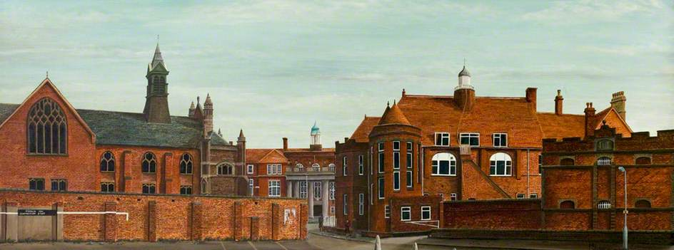 Council House, Coton Road, Car Park, Old Police Station, Nuneaton, Warwickshire