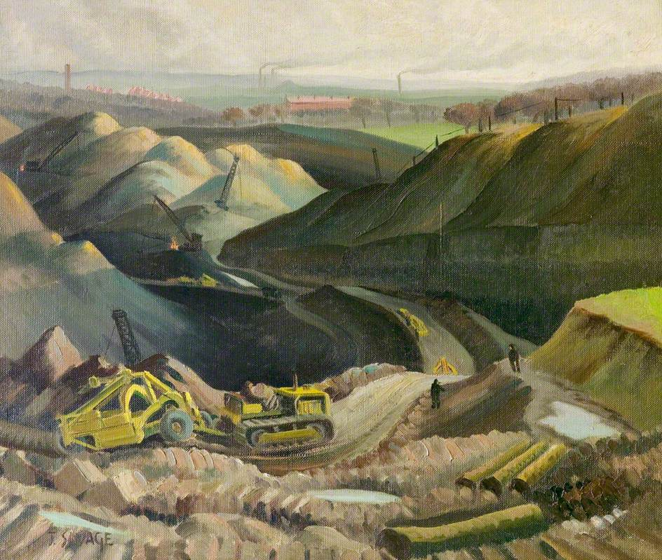 Open Cast Coal Workings, Ridge Lane, Nuneaton, Warwickshire