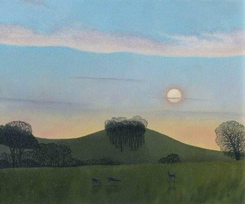 Shuckburgh Sunset, Warwickshire