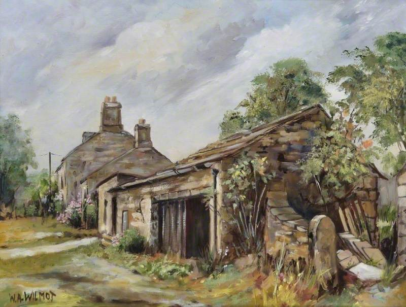 Smithy at Redmire, Yorkshire