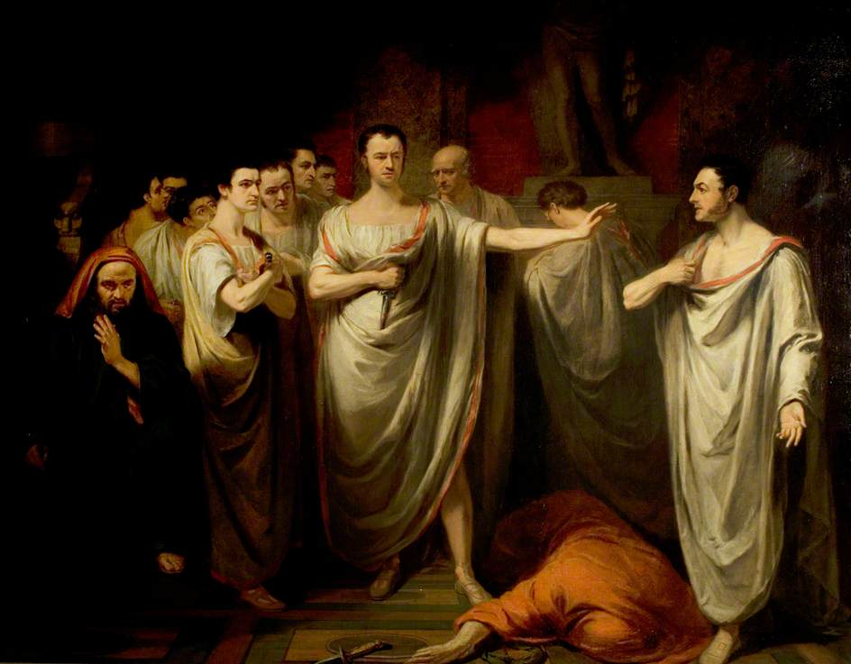'Julius Caesar', Act III, Scene 2, the Murder Scene