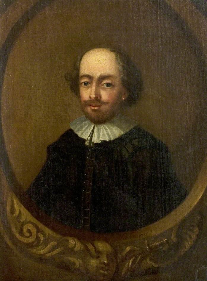 The Tonson Portrait of William Shakespeare (1564–1616)