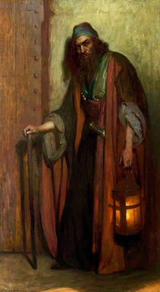 Arthur Bourchier (1863–1927), as Shylock