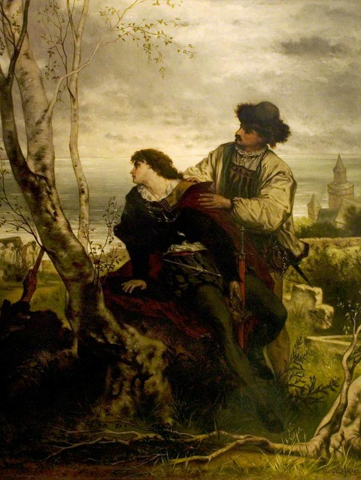 'Hamlet', Act V, Scene 2, Hamlet and Horatio