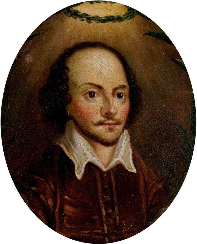 The Kite Portrait of William Shakespeare (1564–1616)