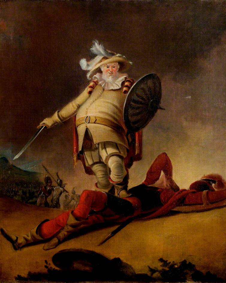 'Henry IV', Part I, Act V, Scene 4, Falstaff and the Dead Body of Hotspur