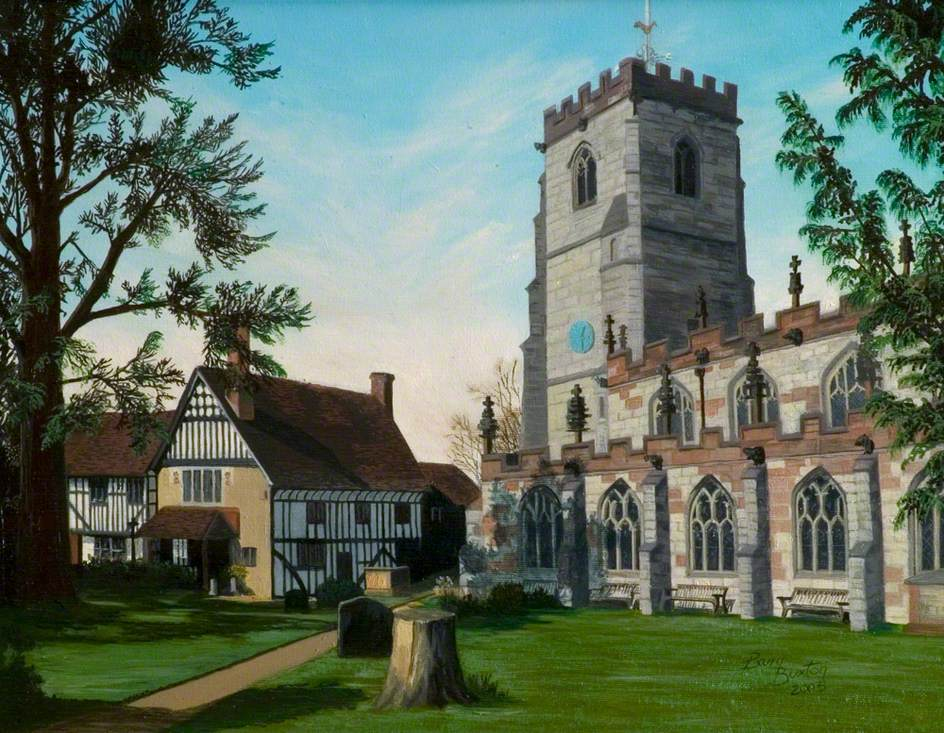 Knowle Parish Church and Guild House, Warwickshire