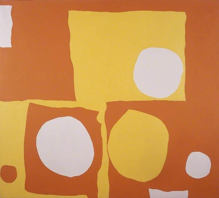 Orange and Lemon with White: 1965