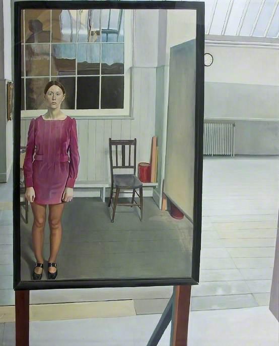 Self Portrait in Best Dress
