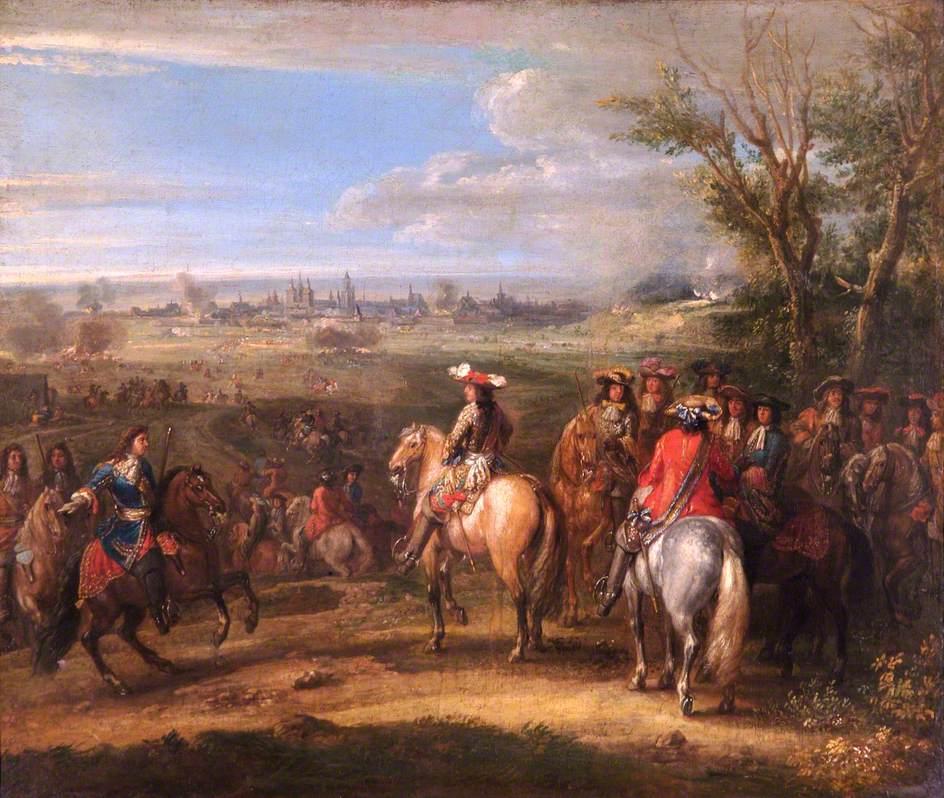 Louis XIV at a Siege