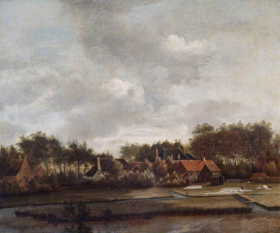 Landscape with Bleaching Grounds
