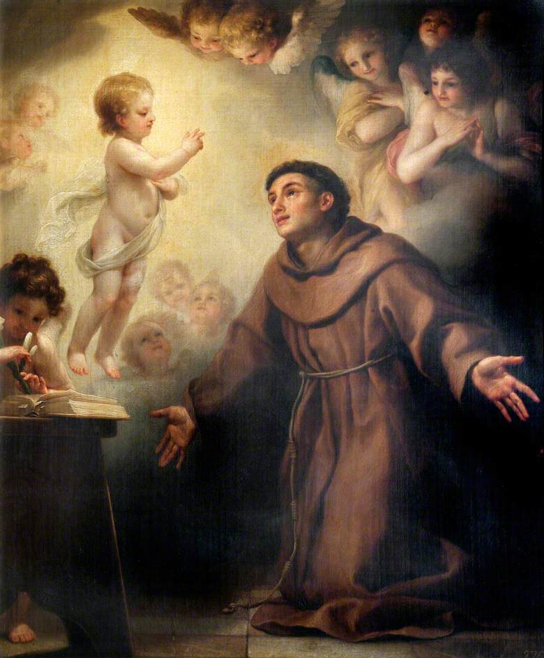 The Infant Christ Appearing to Saint Anthony of Padua