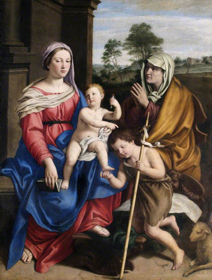 The Virgin and Child with Saint Elizabeth and the Infant Saint John