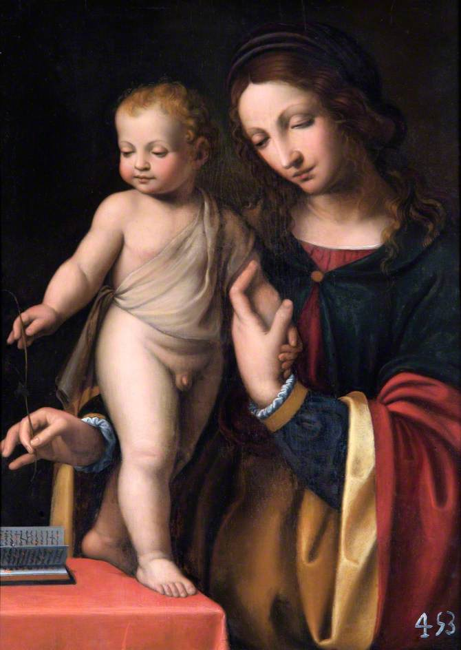 The Virgin with the Standing Child
