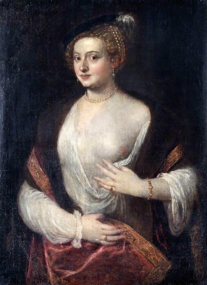 Portrait of an Unknown Lady