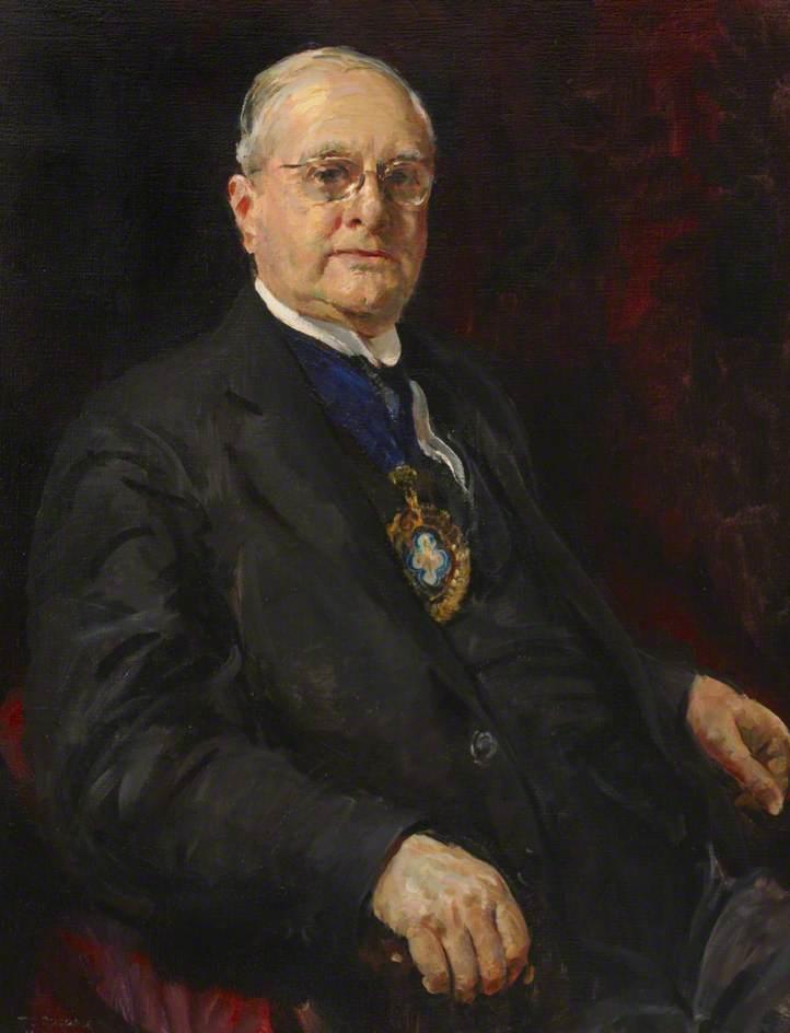 William Boulton Barker, Esq., OBE, FBOA (Hon.)