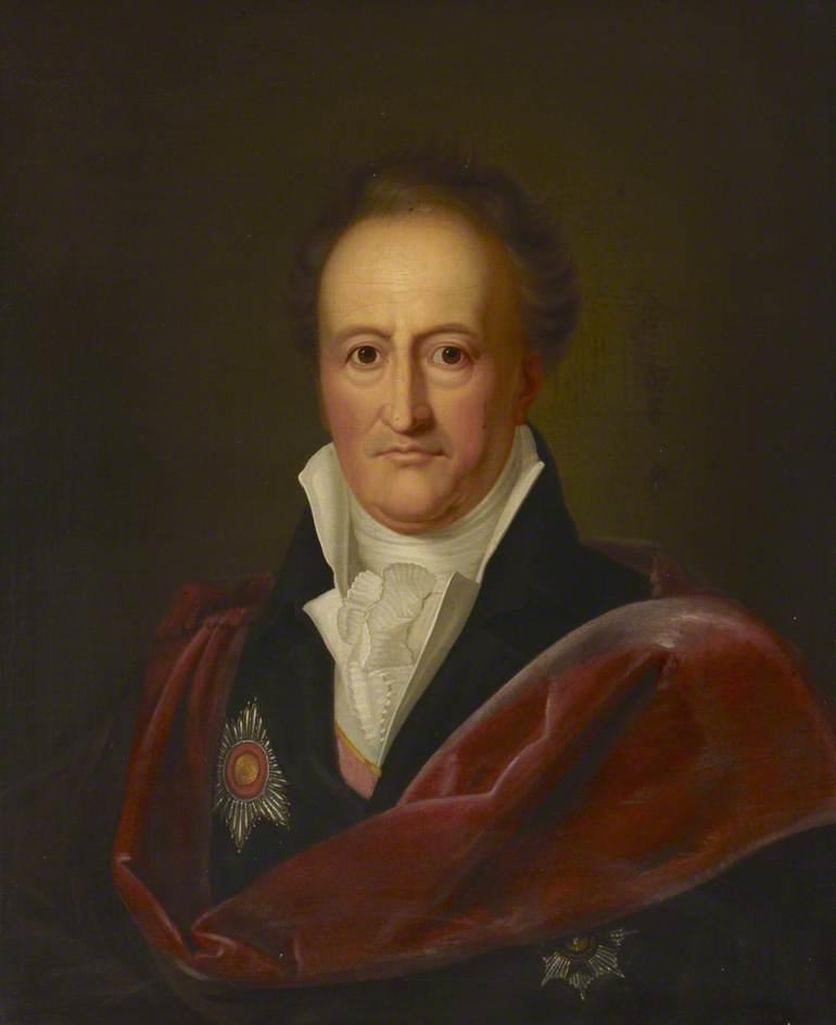 Johann Wolfgang Von Goethe 17491832 Art Uk