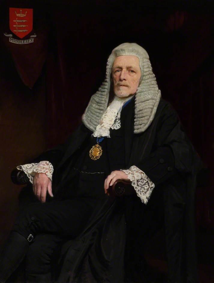 Sir Montagu Sharpe, KG, Chairman, Middlesex Quarter Sessions (1909–1934)
