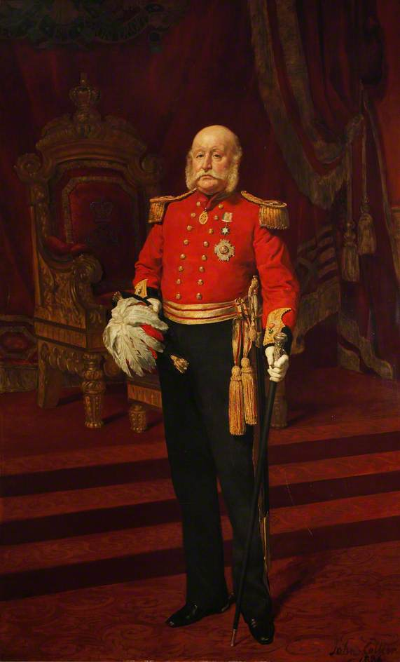 Colonel Sir Francis Brockman Morley, KCB, Chairman of the Middlesex County Sessions