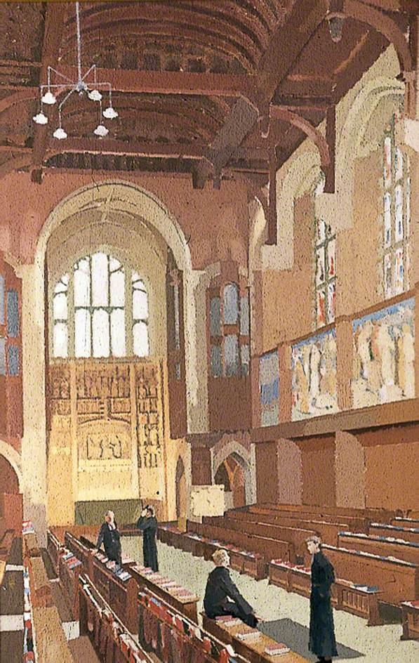 Interior of Christ's Hospital Chapel